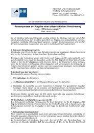 eidesstattlichen Versicherung - IHK Arnsberg Hellweg-Sauerland