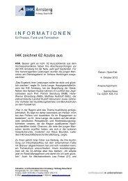 10/2012 Sehr Gute HSK - IHK Arnsberg Hellweg-Sauerland