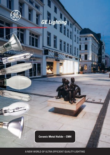 Ceramic Metal Halide - GE Lighting