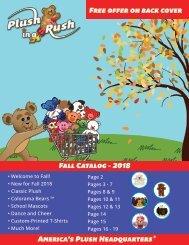 Fall Catalog - 2018