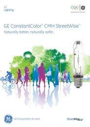 ConstantColor™ CMH Streetwise™ Lamps - Brochure - GE Lighting