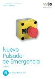 Nuevo Pulsador de Emergencia - GE Lighting