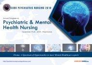 Annual Congress on Psychiatric & Mental Health Nursing