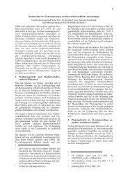 Rechtschutz von Gemeinden gegen straßenverkehrsrechtlichen ...