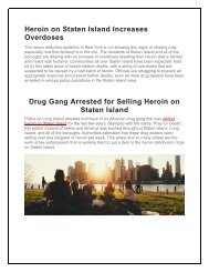 Addiction Treatment on Long Island