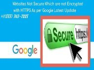 Dial +1(888) 763-7228 Secure your website with HTTPS Certificate.output