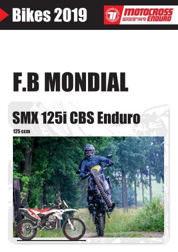 Mondial SMX 125i CBS Enduro