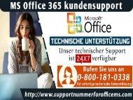 Warum empfehlen wir Ihnen, die MS Office Kundensupport 0-800-181-0338 zu wählen?