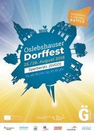 Oslebshauser Dorffest am 25./ 26.08.18