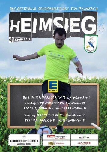 TSV Palmbach Saison 18-19 Heft 1