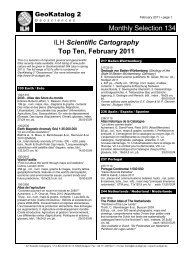 Scientific Cartography Top Ten, February 2011 - ILH Stuttgart ...