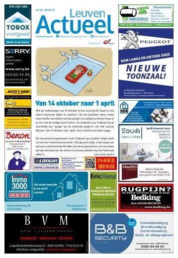 1833 Leuven Actueel - 08 augustus 2018 - week 33