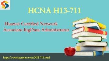 2018 Valid HCNA-bigData H13-711 free download