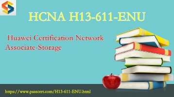 2018 valid HCNA-Storage H13-611-ENU free download