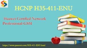 2018 valid HCNP-GSM H35-411-ENU free download