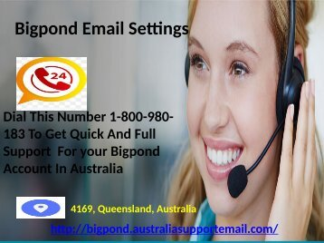 Fix Hacked Account Recovery Error| Bigpond Email Setting  Number 1-800-980-183