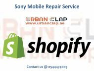 Get the repair and replacement services from Urban Clap, Call @ 0544474009