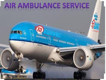 Medical Emergency Air Ambulance Services from Jabalpur