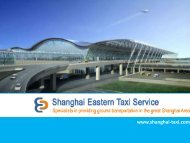 Book Taxi from Pudong Airport to Shanghai at Cheap Fare