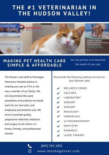 High-Quality Veterinary Care | Monhagen Veterinary Hospital