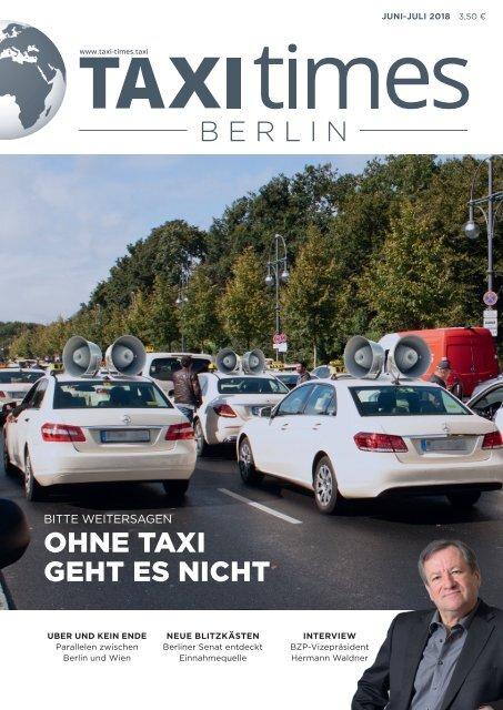 Taxi Times Berlin - Juli 2018