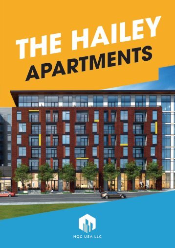The Hailey Apartments - brochure A4 - FA - 20180807