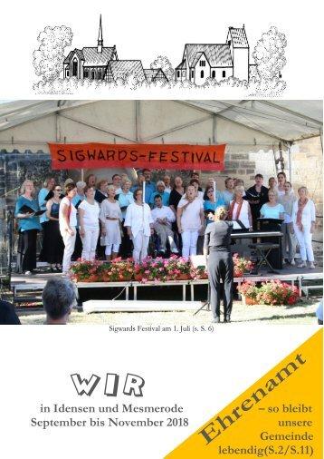 """Gemeindebrief """"Wir"""" - Ausgabe 03/18"""