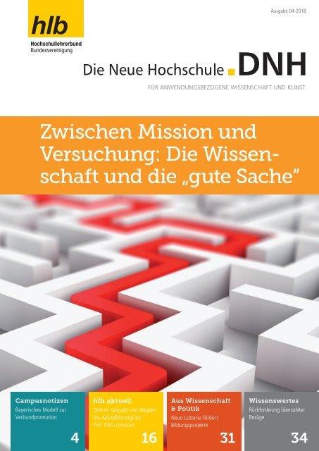 Die Neue Hochschule Heft 4/2018