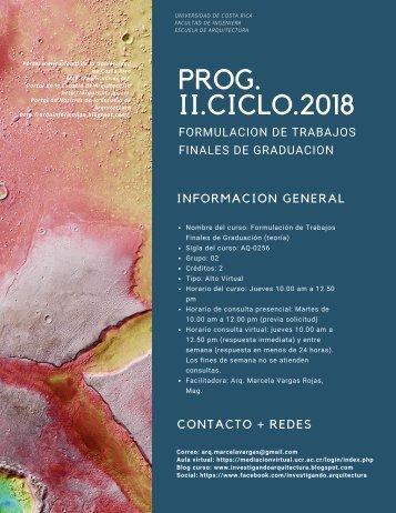 PROG. FORMULACIONTFG-IISEM2018-G2