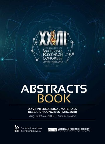 Abstracts Book - IMRC 2018