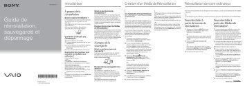 Sony VPCEH2K4E - VPCEH2K4E Guida alla risoluzione dei problemi Francese