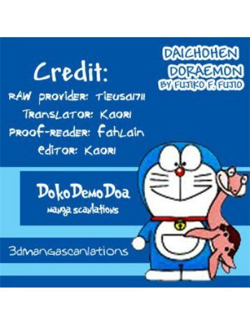 [Bai Giai Den Roi cham Com] - Truyen Dai Doraemon - Cuon 1