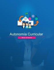 Manual del Docente Autonomía curricular
