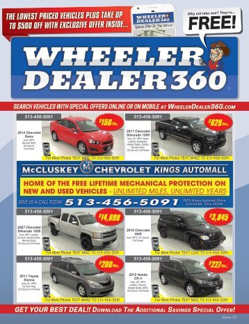 Wheeler Dealer 360 Issue 33, 2018
