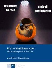 IHK-Ausbildungsatlas 2018/2019
