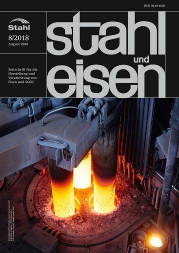 Leseprobe stahl und eisen 08/2018