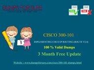 Cisco 300-101 Dumps