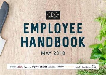 CDG Employee Handbook