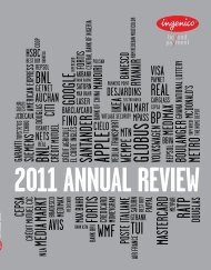 Ingenico Annual Review 2011