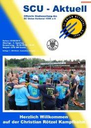 SCU - Aktuell Saison 18/19 - Nr. 1