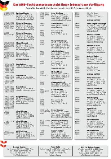 AHB HV-Liste