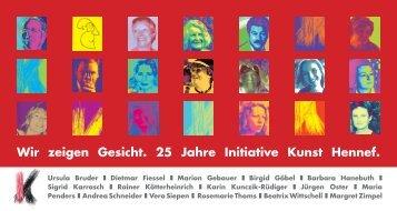 Hennefer Kunsttage 27.10. - Initiative Kunst Hennef