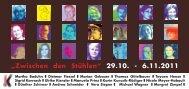Hennefer Kunsttage 29.10. - Initiative Kunst Hennef