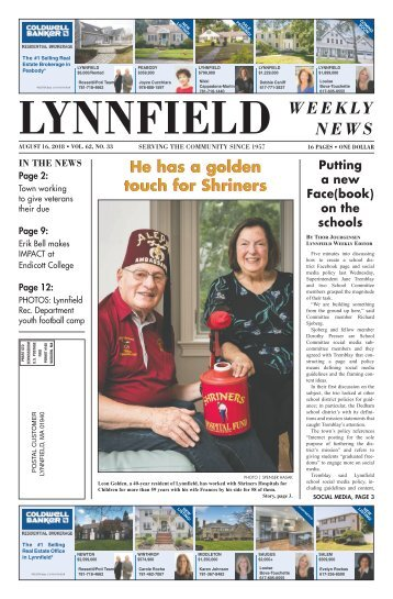 Lynnfield 8-16