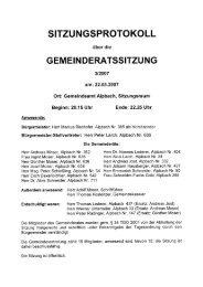 Gemeinderatssitzung vom 2007.03.22 - .PDF - Alpbach