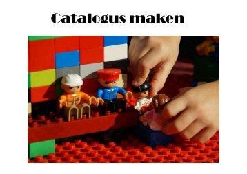 Catalogus Maken
