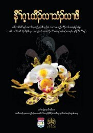 Studying Orchids Enriching Lives (Karen Version)
