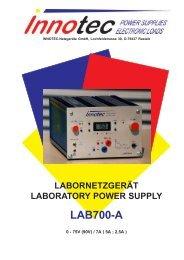 labornetzgerät laboratory power supply lab700-a - innotec-ps.de
