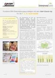 Referenz SAP-Check-Up Gude - Innovabee