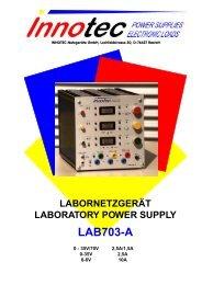 labornetzgerät laboratory power supply lab703-a - innotec-ps.de